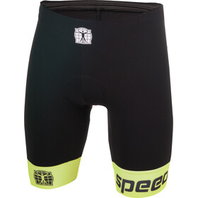 Bioracer Tri Shorts Men black-fluoyellow